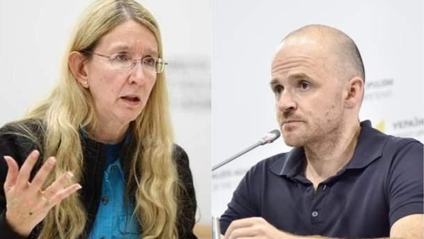 Парламентский комитет рассмотрит вопрос об увольнении Супрун и Линчевского