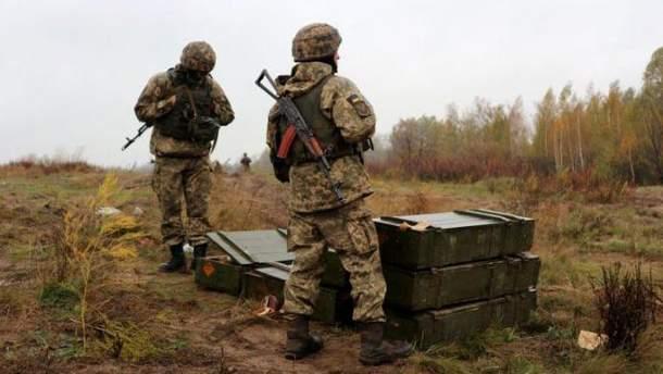 Українські військові закріпились на нових позиціях