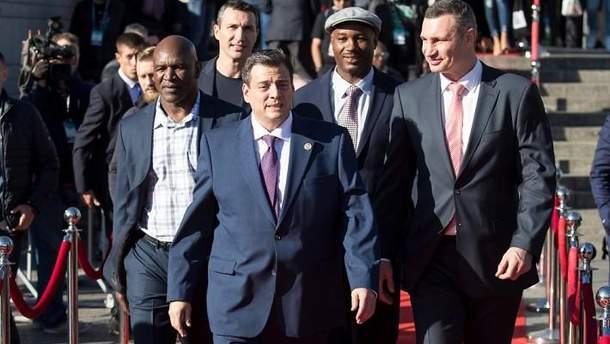 В Киеве торжественно открыли 56-й Конгресс Всемирного боксерского совета