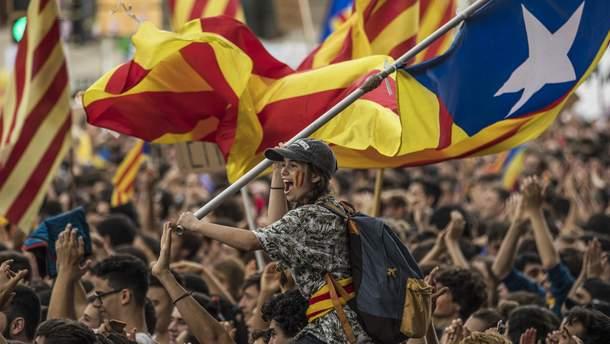 Каталония накануне референдума в 2017 году