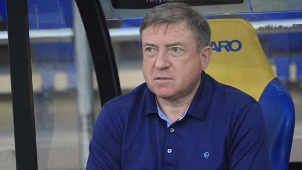 В'ячеслав Грозний втретє очолив Арсенал-Київ