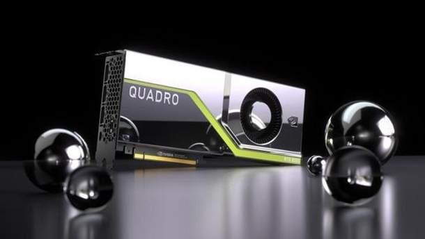 NVIDIA Quadro RTX 6000 та Quadro RTX 5000: характеристики та ціна