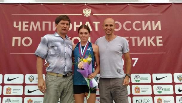 Россиянка Ксения Савина выступала под паспортом украинской спортсменки