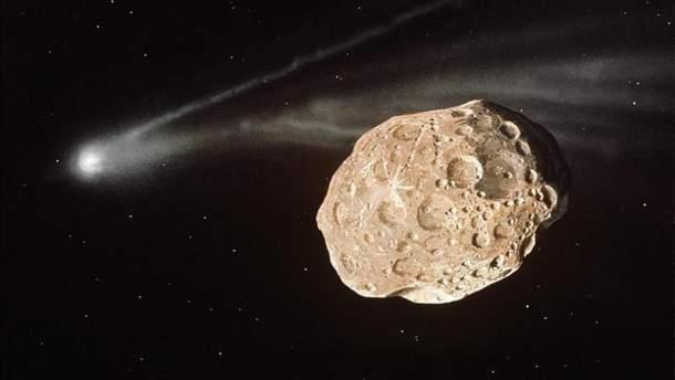 Астероид 2018 SP1 сблизится с Землей 3 октября 2018