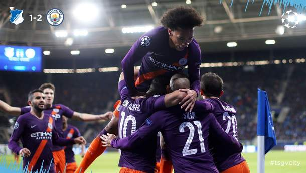 Хоффенхайм – Манчестер Сіті результат та огляд матчу