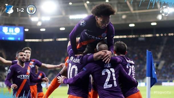 Хоффенхайм – Манчестер Сити результат и обзор матча