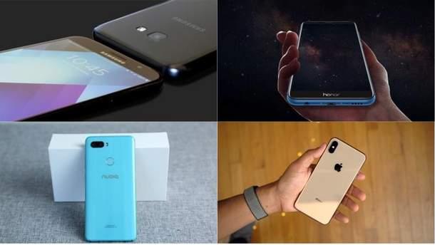 Найкращі смартфони вересня