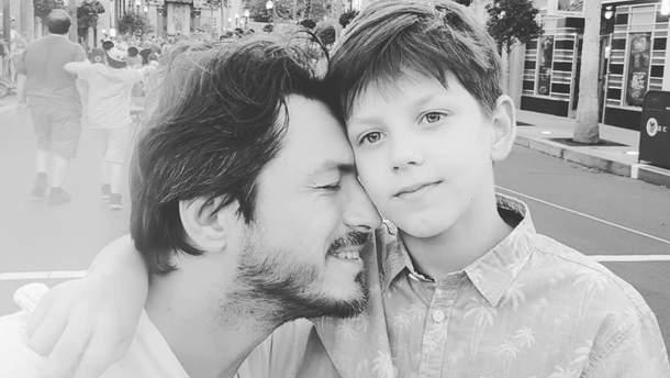 Сергій Притула з сином Дмитром