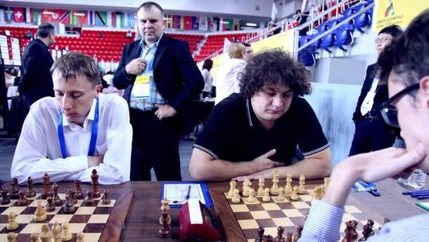 Мужская сборная Украины уступила Франции на шахматной Олимпиаде