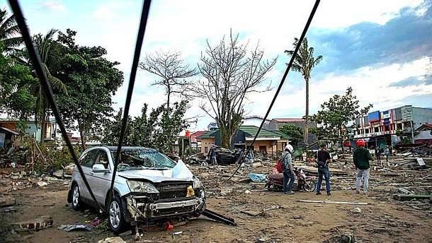 Цунамі в Індонезії