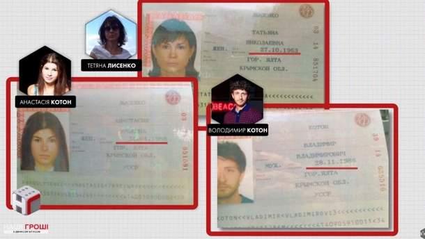 Родственники Семочко имеют российские паспорта