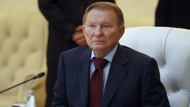 Кучма вийшов із ТКГ у Мінську: з'явився коментар Турчинова