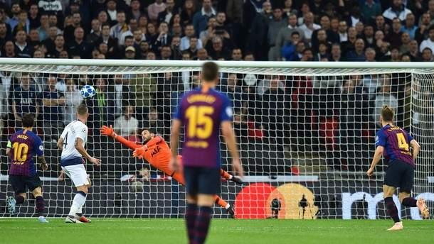 Тоттенхэм – Барселона результат матча