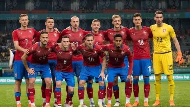 Збірна Чехії з футболу