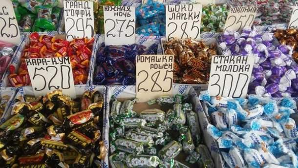 Цукерки Roshen виявили в окупованому Криму