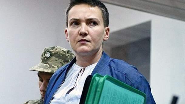Суд арестовал часть квартиры Савченко