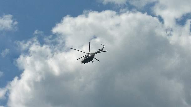 У Росії розбився вертоліт, троє загиблих