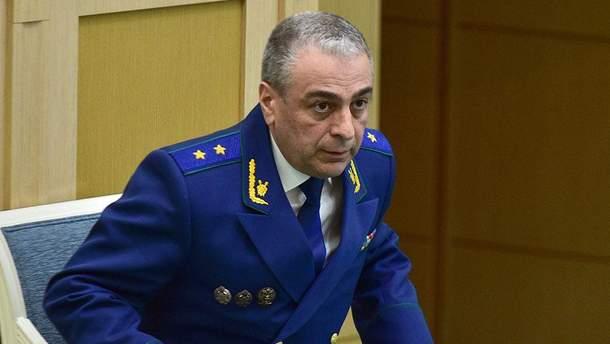У катастрофі літака в Росії загинув заступник генпрокурора Карапетян
