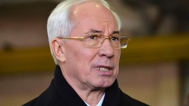 Азаров с сыном получили более 140 миллионов гривен за назначение Клюева