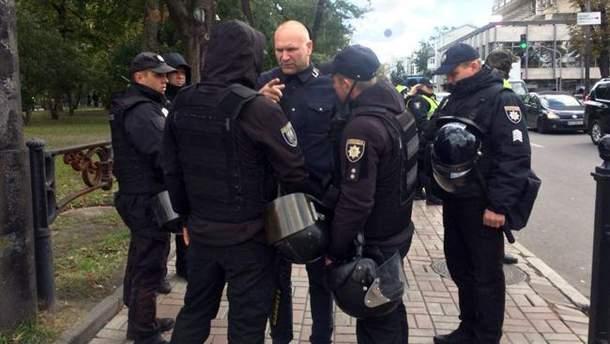 Правоохранители перекрыли подходы к Верховной Раде