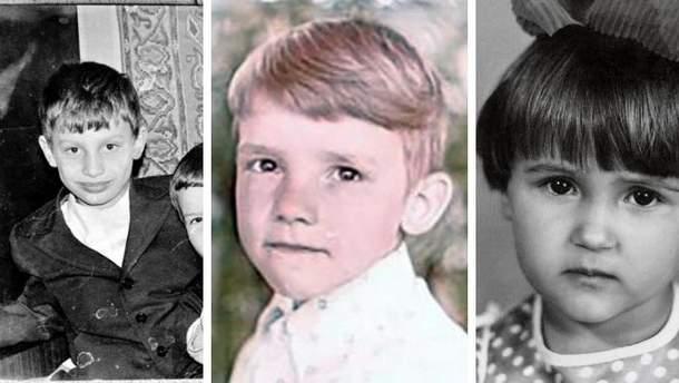 Украинские звездные спортсмены в детстве