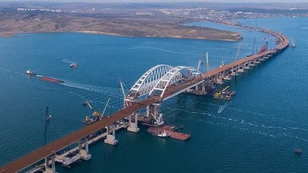 Строить Крымский мост оккупантам помогала украинская компания: доставляли щебень