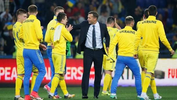 Сборная Украины по футболу может сыграть с Россией