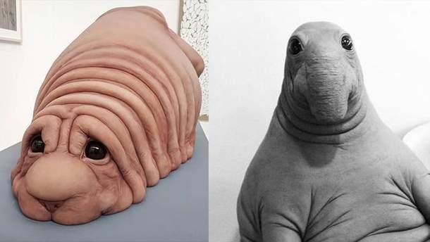 Нове творіння авторки Почекуна (ліворуч)