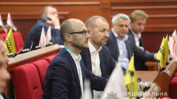 Нападение на депутата Киевсовета Гусовского