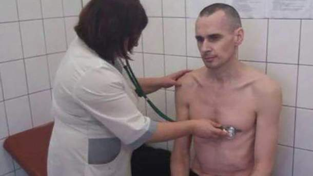 Сенцов припинить голодування 6 жовтня