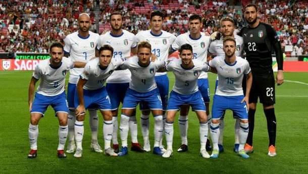 Збірна Італії