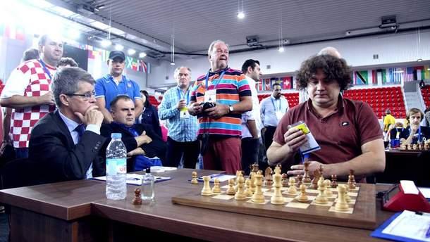 Мужская сборная Украины закрыла топ-10 на шахматной Олимпиаде