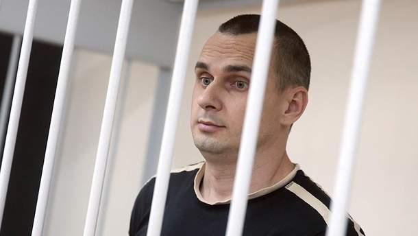 """Сенцов заявил, что у него """"полетели"""" внутренние органы"""