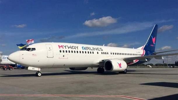 """До """"Борисполя"""" зайшла нова авіакомпанія"""