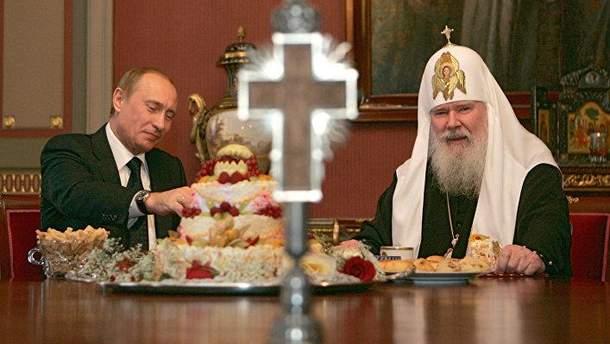 """Церковь в РФ ровно """"политика Путина"""""""