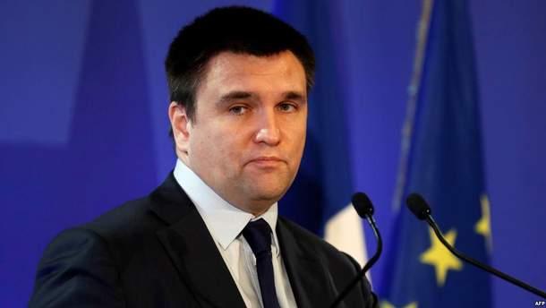 Клімкін розповів, що у РФ постійно перебуває 3 мільйони українців