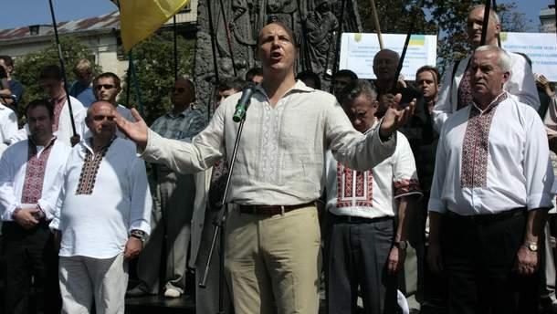 Парубий призвал грузинского патриарха Илию II поддержать предоставление Томоса Украине