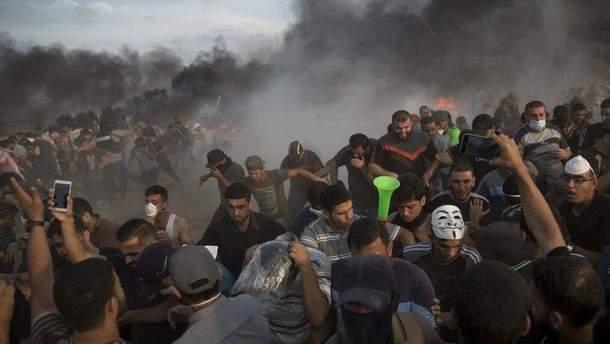 Під час сутичок на кордоні Сектора Гази застрелили 2 палестинців, ще 400 – поранили