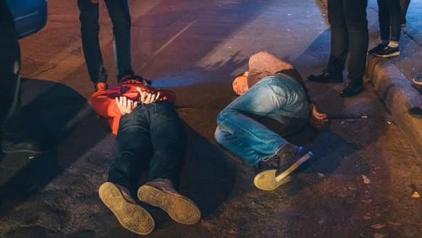 Поліція Києва затримала чоловіків, які стріляли в кафе L'Kafa