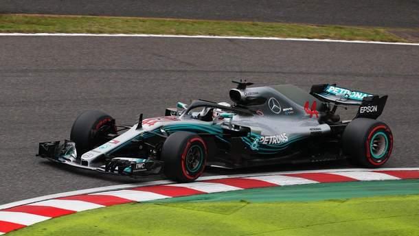 Пілоти Mercedes виграли кваліфікацію гран-прі Японії, Феттель через помилку стартуватиме 9-им