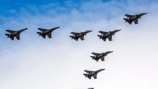 В Україну на навчання прибули винищувачі F-15 та літаки C-130 ВПС США