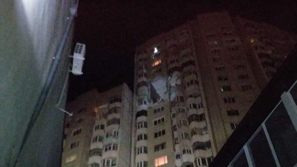 Вибух у Кишиневі стався на 16-му поверсі багатоквартирного будинку