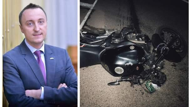 Політолог Дмитро Косенко розбився на мотоциклі
