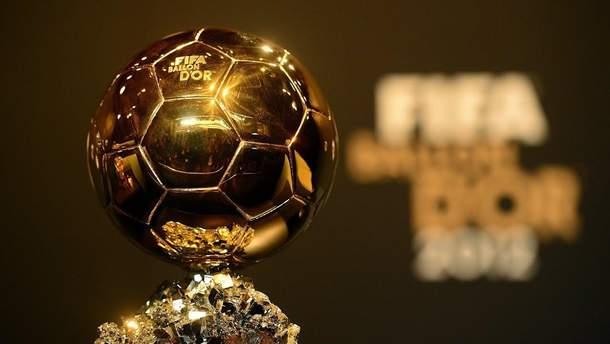 Золотой мяч 2018. Претенденты футбол