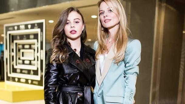 Ольга Фреймут з дочкою Златою