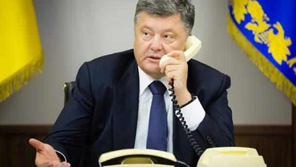 Из-за взрывов возле Ични Порошенко вызвал к себе силовиков