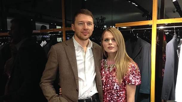 Ольга Фреймут з чоловіком Володимиром Локотко
