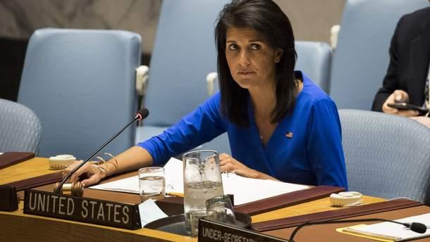 Ніккі Гейлі подала у відставку із посади посла США в ООН
