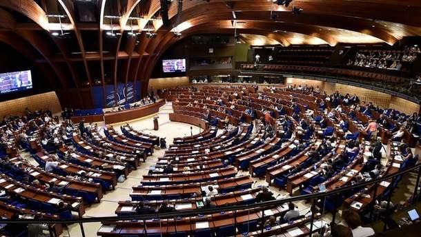 ПАРЄ відмовилась голосувати за зміну санкційних правил для Росії