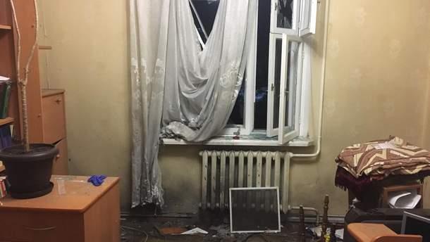 В квартиру Сергея Мазура бросили гранату